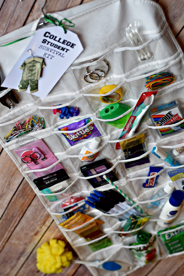 Best ideas about DIY College Survival Kit . Save or Pin 12 Inexpensive DIY Graduation Gift Ideas Spaceships and Now.