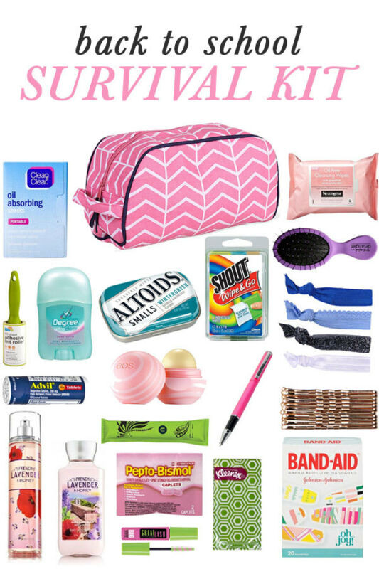 Best ideas about DIY College Survival Kit . Save or Pin DIY Back to School Survival Kit Now.