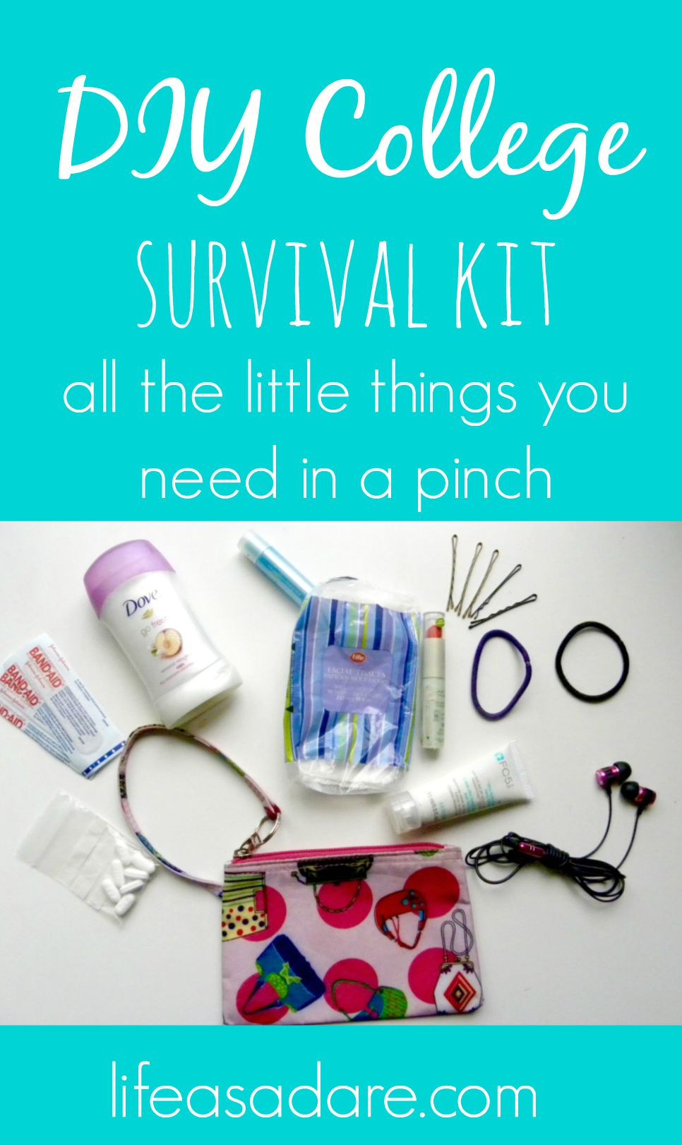Best ideas about DIY College Survival Kit . Save or Pin DIY College Survival Kit Life as a Dare Now.