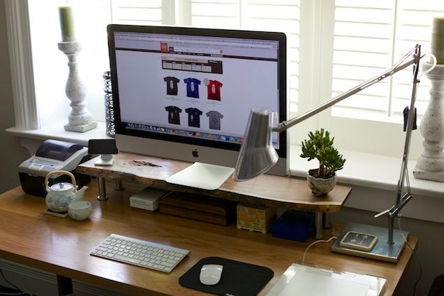 Best ideas about DIY Computer Monitor Stand . Save or Pin DIY Custom puter Monitor Stand office Now.