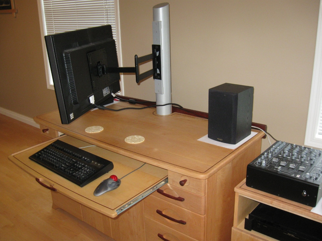 Best ideas about DIY Computer Monitor Stand . Save or Pin steel How can I transmogrify a fixed monitor post in to Now.