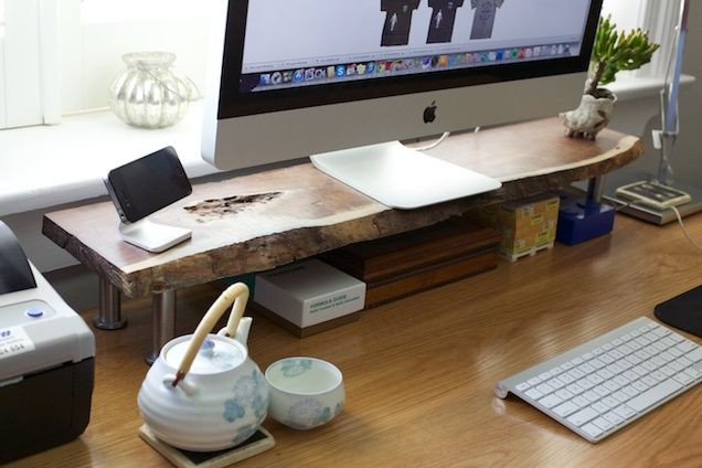 Best ideas about DIY Computer Monitor Stand . Save or Pin DIY Custom puter Monitor Stand DIY Now.