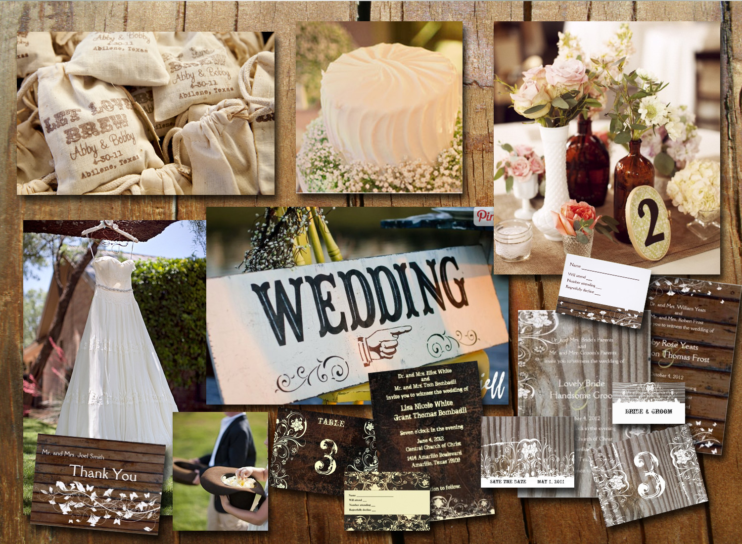 Best ideas about DIY Country Wedding . Save or Pin Inspiration Boards Now.