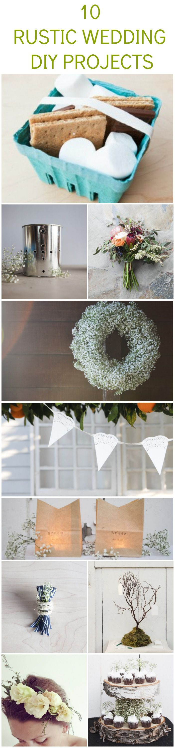 Best ideas about DIY Country Wedding . Save or Pin 10 Rustic Wedding DIY Projects You Should Try Rustic Now.