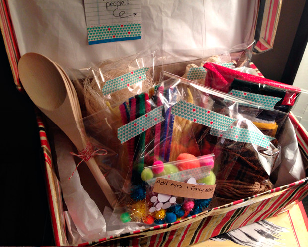 Best ideas about DIY Craft Kits For Kids . Save or Pin Craft Kits for Kids homemade christmas t idea Now.