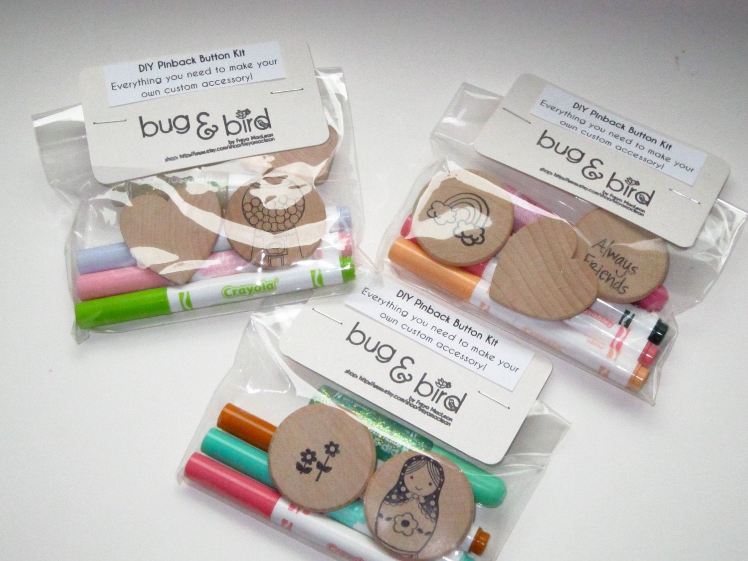 Best ideas about DIY Craft Kits For Kids . Save or Pin Items similar to DIY Pinback Button Kit Craft Kit for Now.