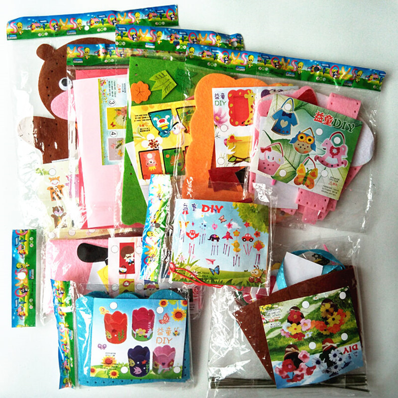 Best ideas about DIY Craft Kits For Kids . Save or Pin Aliexpress Buy Happyxuan 9 Designs lot Kids DIY Now.