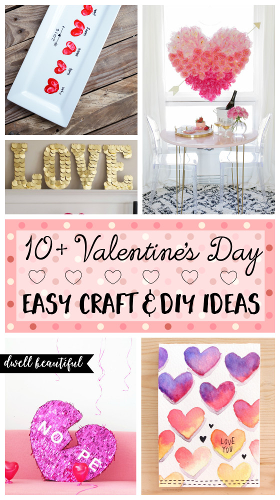 Best ideas about DIY Craft Projects For Adults . Save or Pin 10 Easy Valentine s Day DIY Craft Ideas for Adults Now.