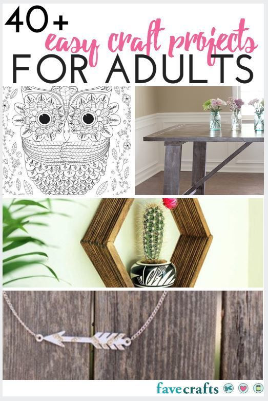 Best ideas about DIY Craft Projects For Adults . Save or Pin The 372 best images about New Craft Ideas on Pinterest Now.