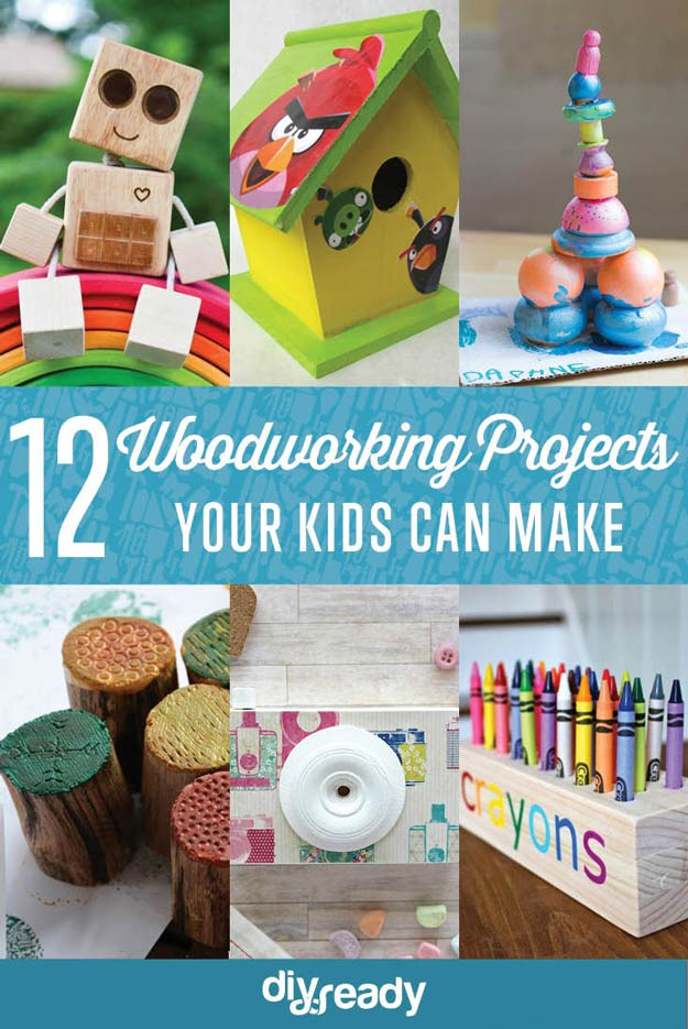 Best ideas about DIY Crafts For Kids . Save or Pin Easy Woodworking Projects for Kids to Make Now.