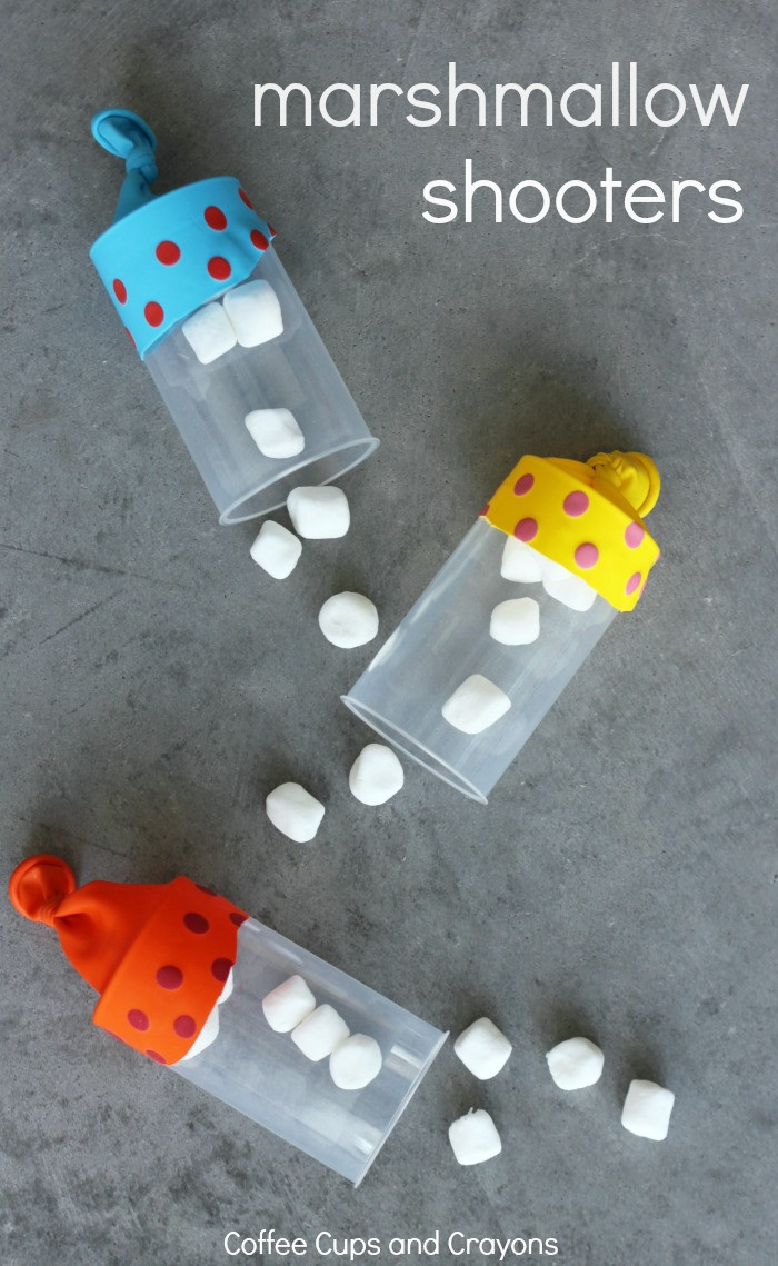 Best ideas about DIY Crafts For Kids . Save or Pin Marshmallow Shooters DIY Kids Craft Now.