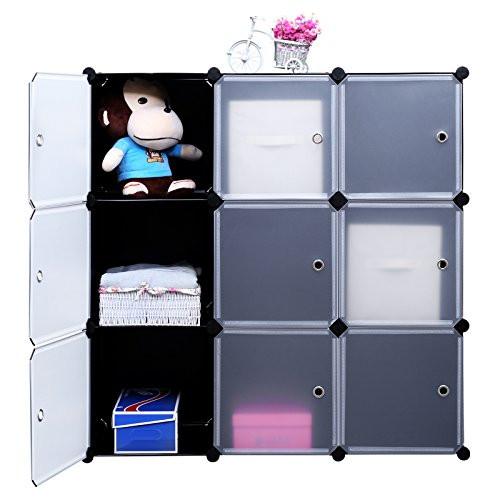 Best ideas about DIY Cube Organizer . Save or Pin SONGMICS 3 Tier DIY Storage Cube Organizer Closet 9 Cube Now.