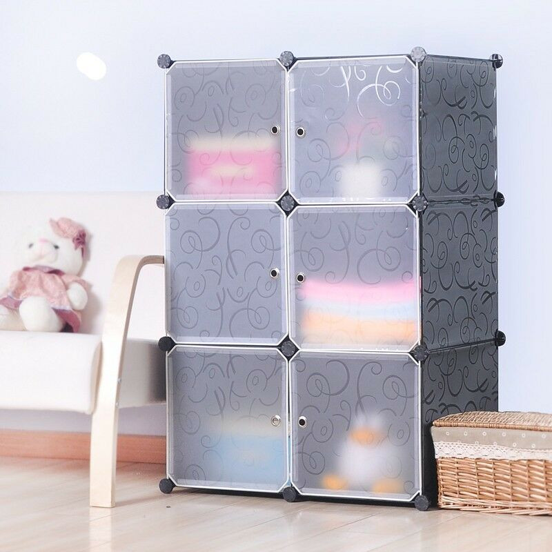 Best ideas about DIY Cube Organizer . Save or Pin DIY Home Storage Cube Cabinet for Clothes Shoes Bags Now.