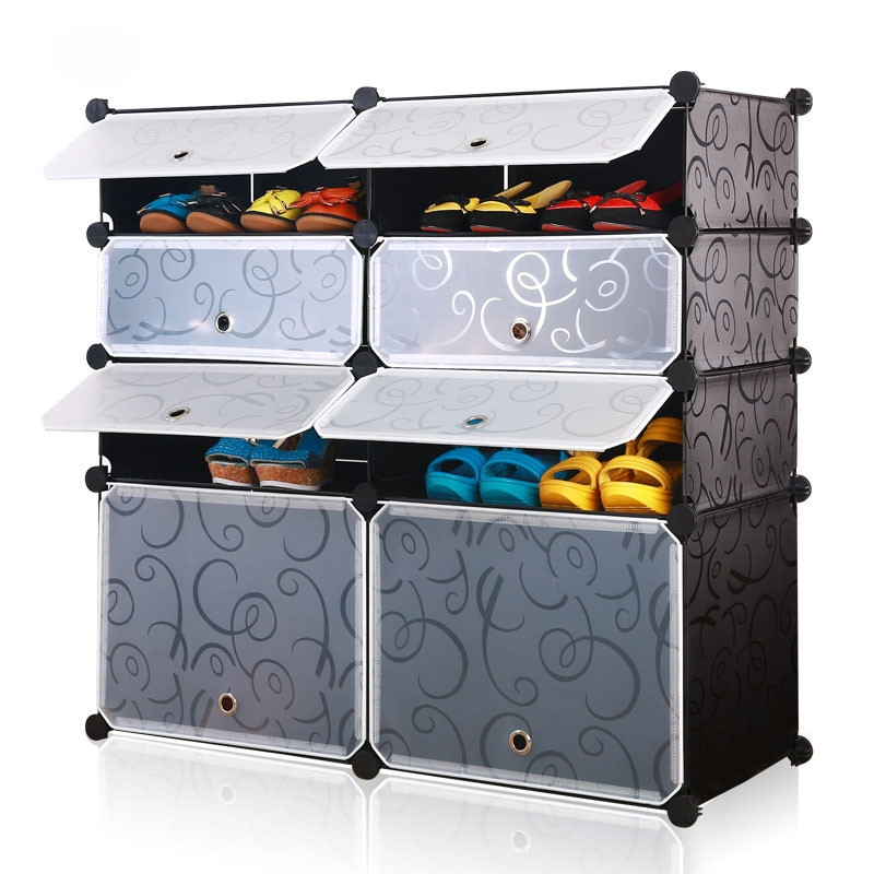 Best ideas about DIY Cube Organizer . Save or Pin DIY Shoe Rack Shelves Storage Organizer Modular Plastic Now.