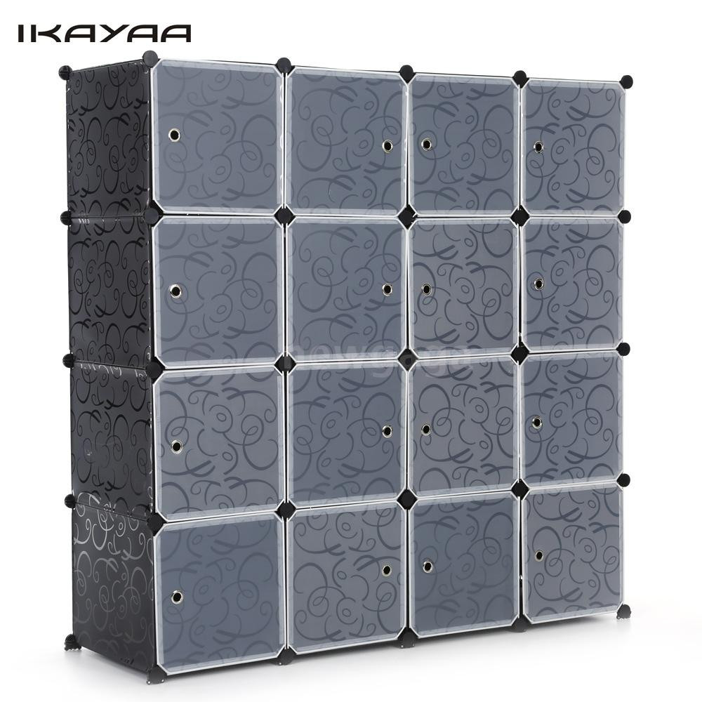 Best ideas about DIY Cube Organizer . Save or Pin IKAYAA DIY Portable Closet Storage Organizer Wardrobe Now.