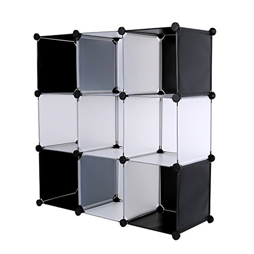 Best ideas about DIY Cube Organizer . Save or Pin C&AHOME DIY 9 Cube Bookcase Media Storage Organizer Shelf Now.