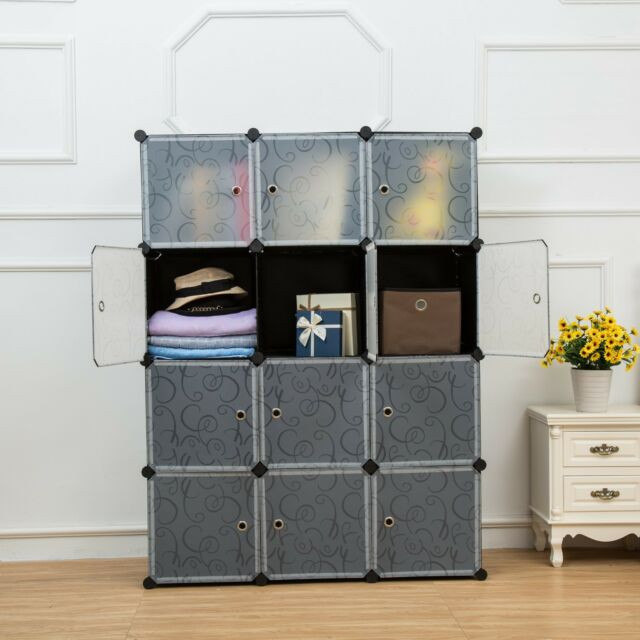 Best ideas about DIY Cube Organizer . Save or Pin Unicoo Multi Use DIY Plastic 12 Cube Organizer Bookcase Now.