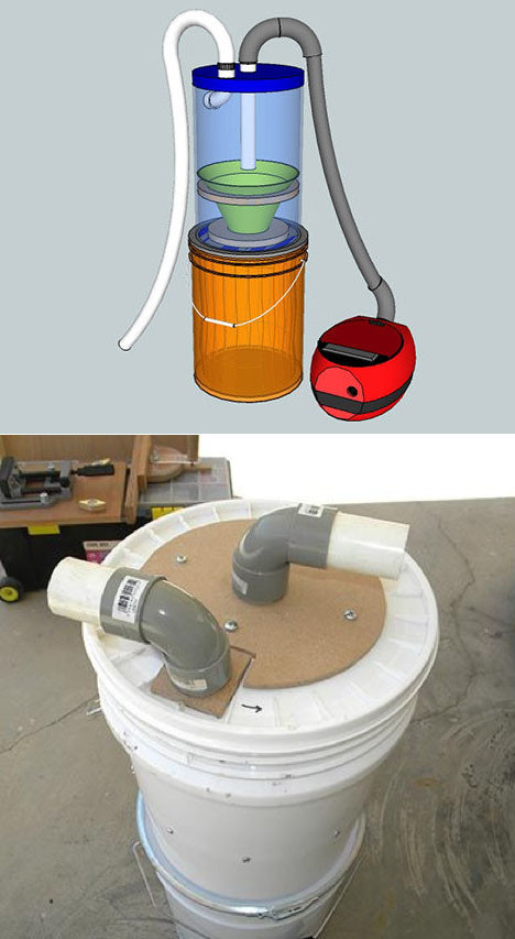 Best ideas about DIY Cyclone Dust Collector Plans . Save or Pin The Quest for an Affordable Dust Collecting Cyclone Part Now.