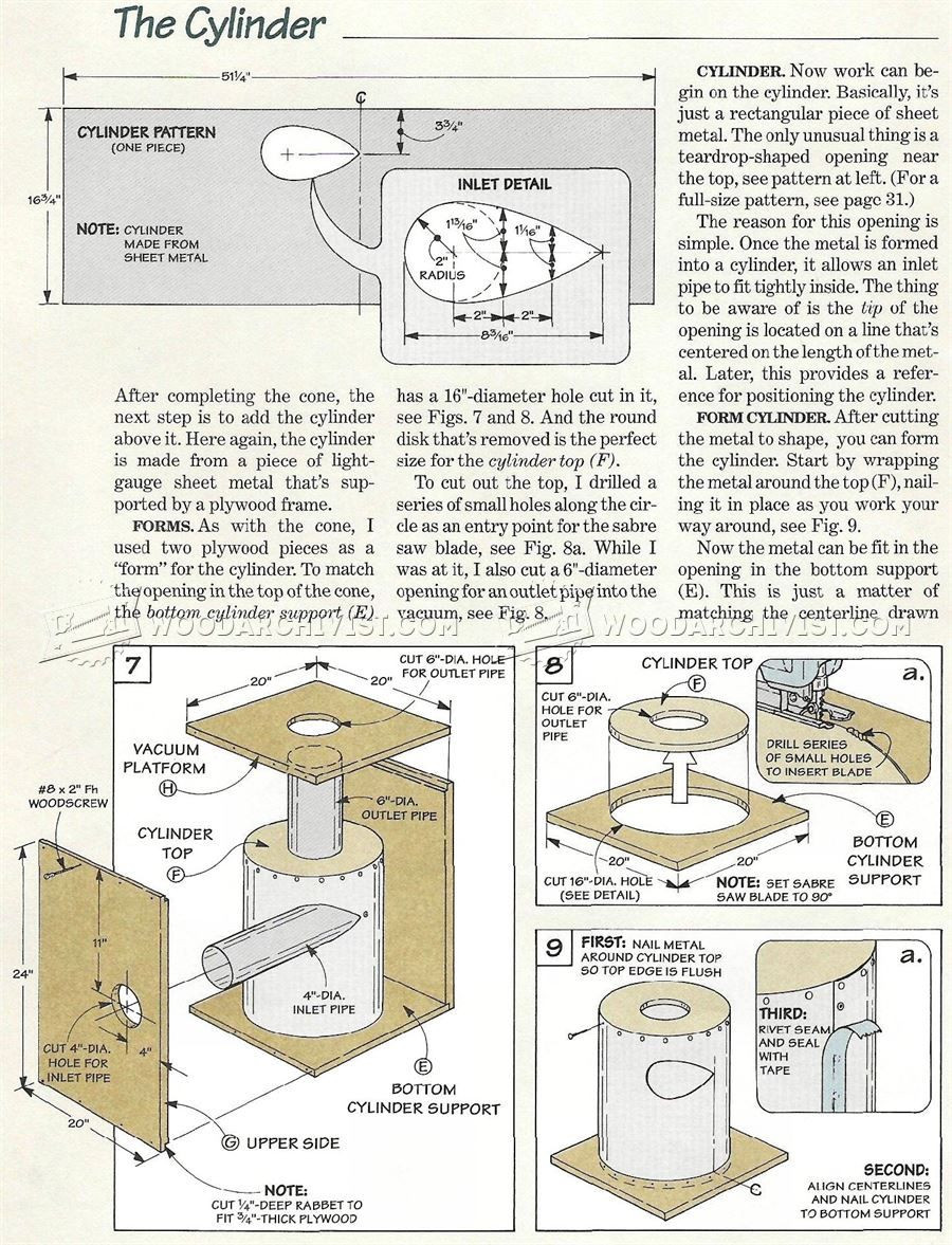 Best ideas about DIY Cyclone Dust Collector Plans . Save or Pin DIY Cyclone Dust Collector Dust Collection Now.
