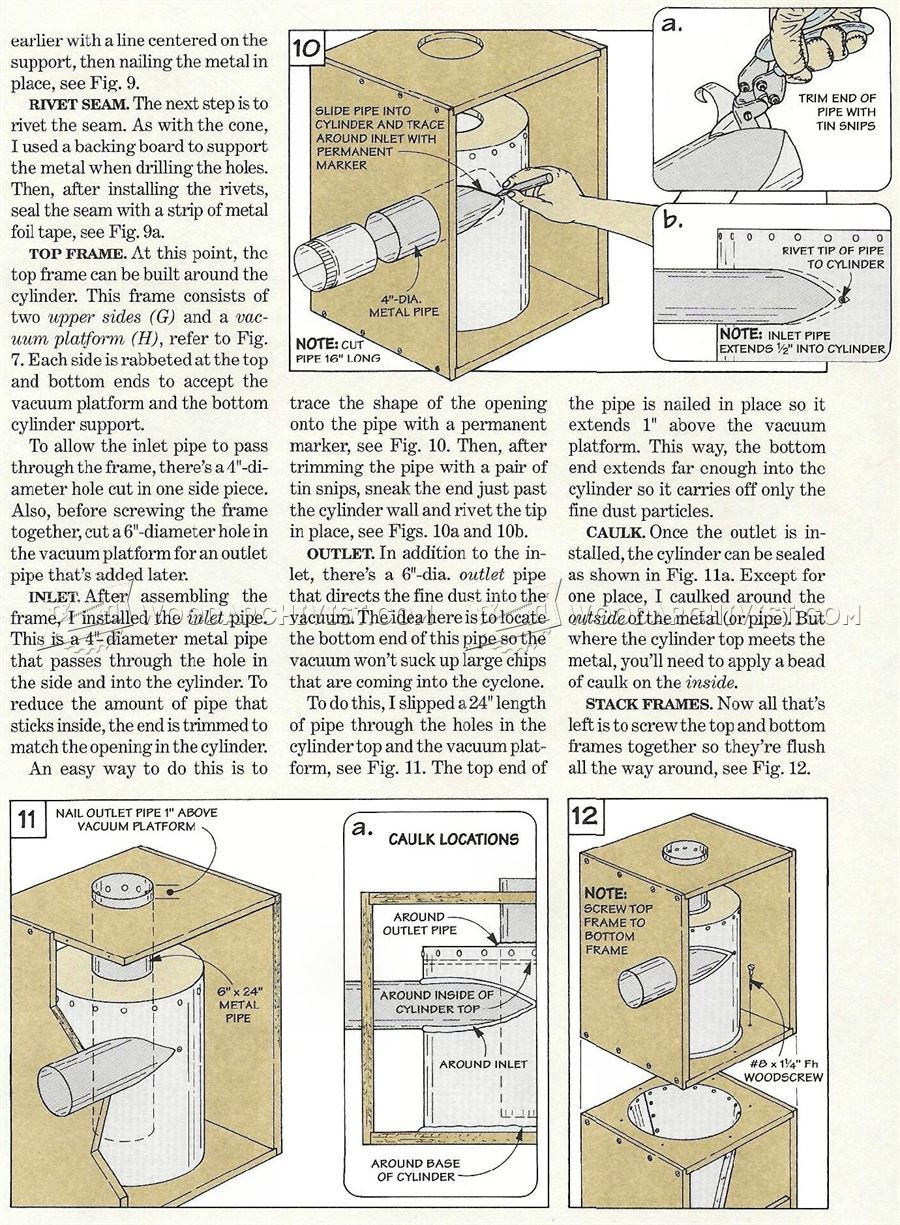 Best ideas about DIY Cyclone Dust Collector Plans . Save or Pin DIY Cyclone Dust Collector • WoodArchivist Now.