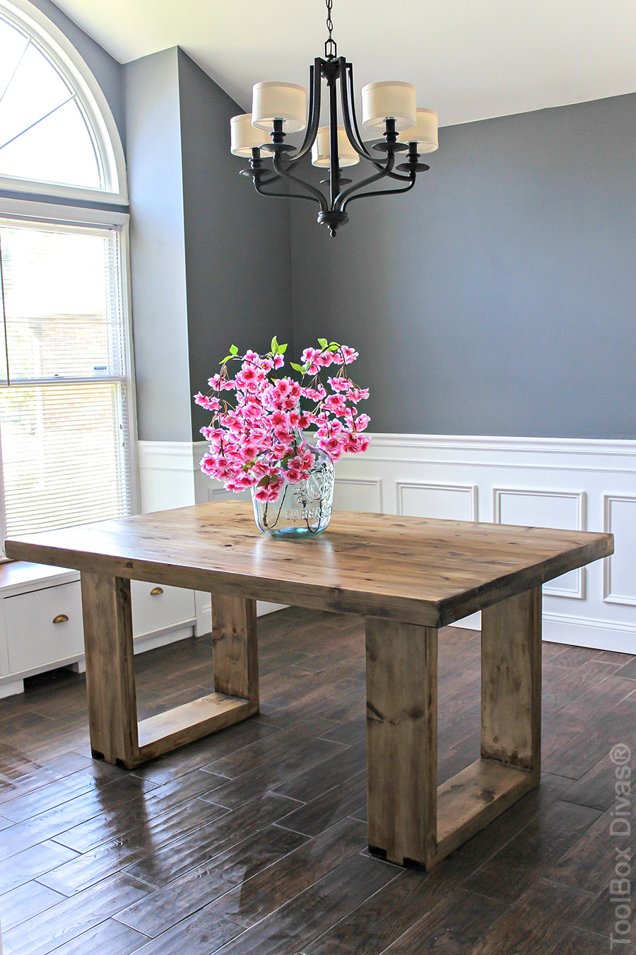Best ideas about DIY D&D Table . Save or Pin DIY Husky Modern Dining Table Now.