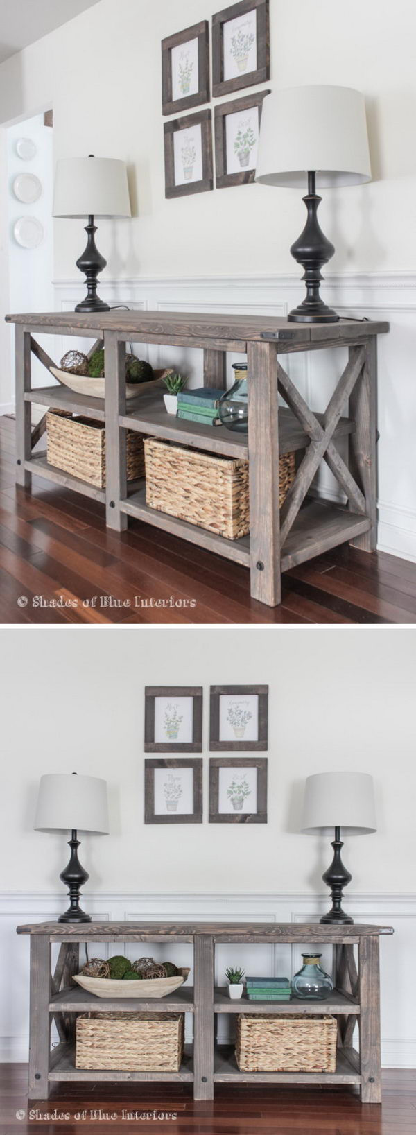 Best ideas about DIY D&D Table . Save or Pin 20 Easy DIY Console Table and Sofa Table Ideas Hative Now.