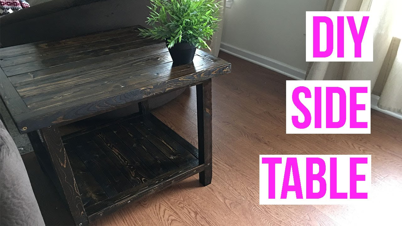 Best ideas about DIY D&D Table . Save or Pin EASY DIY SIDE TABLE Now.