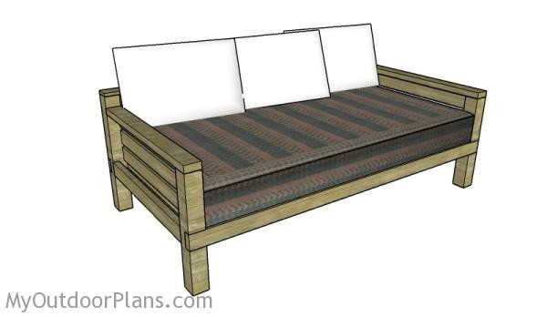 Best ideas about DIY Daybed Plans . Save or Pin DIY Daybed Plans MyOutdoorPlans Now.