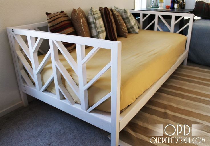 Best ideas about DIY Daybed Plans . Save or Pin Daybed Design Plans WoodWorking Projects & Plans Now.
