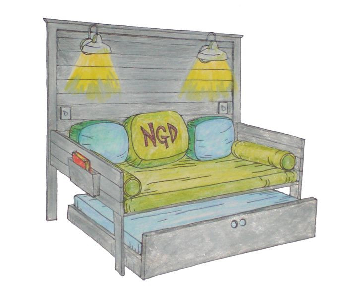 Best ideas about DIY Daybed Plans . Save or Pin Plans To Build A Daybed With Trundle WoodWorking Now.