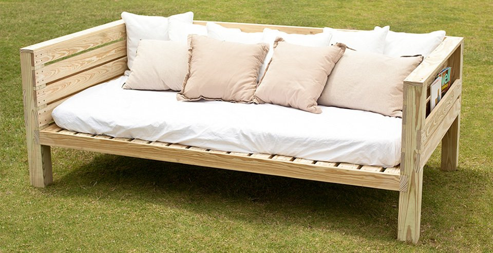 Best ideas about DIY Daybed Plans . Save or Pin Free Daybed Plans Woodwork City Free Woodworking Plans Now.