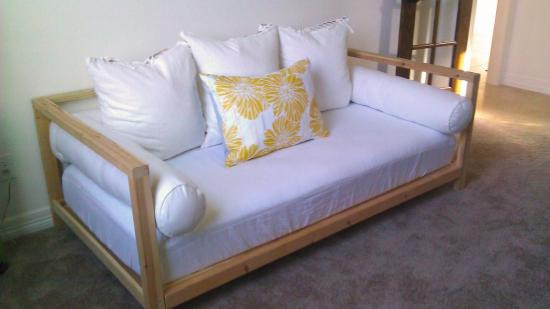 Best ideas about DIY Daybed Plans . Save or Pin Builders Showcase 2x2 Double Sided Daybed The Design Now.