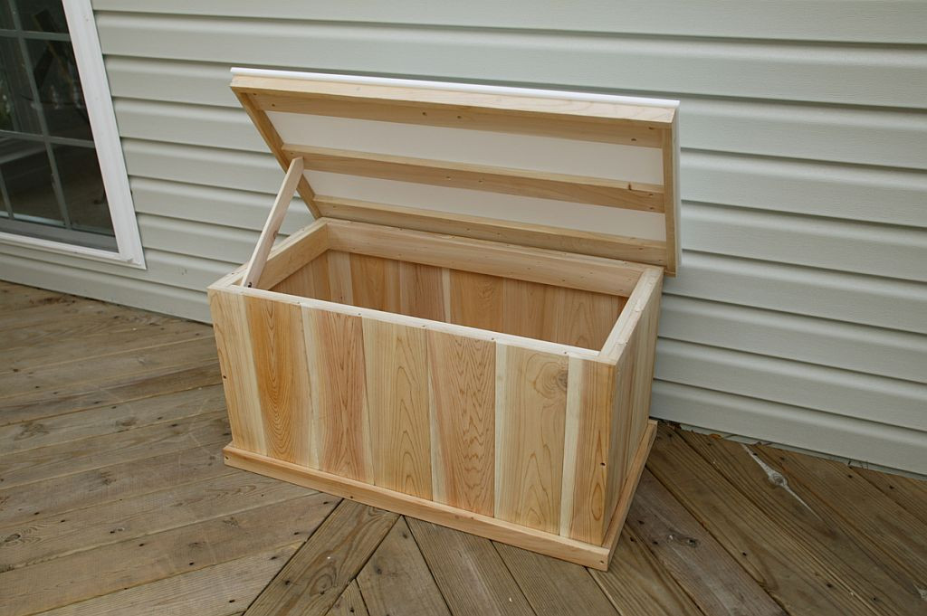 Best ideas about DIY Deck Box . Save or Pin Cedar Deck Box Plans Plans DIY Free Download How To Make Now.