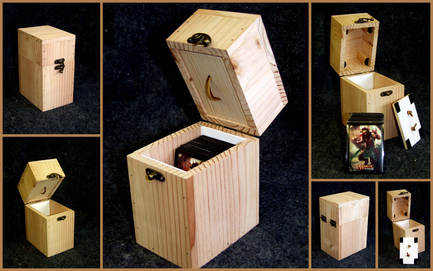 Best ideas about DIY Deck Box . Save or Pin Magic The Gathering DIY deck box Now.