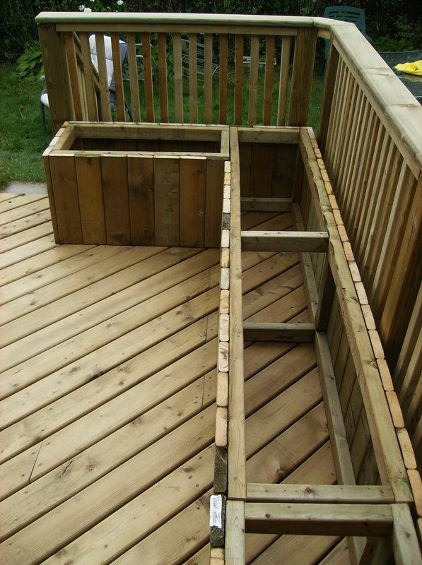 Best ideas about DIY Deck Box . Save or Pin Deck Seating on Pinterest Now.