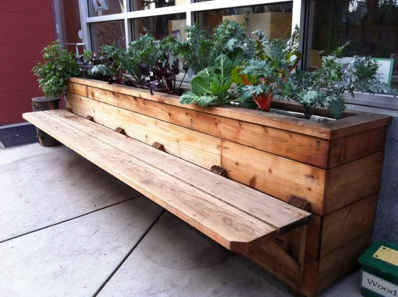 Best ideas about DIY Deck Box . Save or Pin buildergibbs recent projects classroom bench & planter Now.