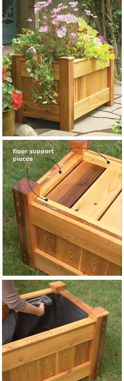 Best ideas about DIY Deck Boxes . Save or Pin Best 25 Deck planters ideas on Pinterest Now.