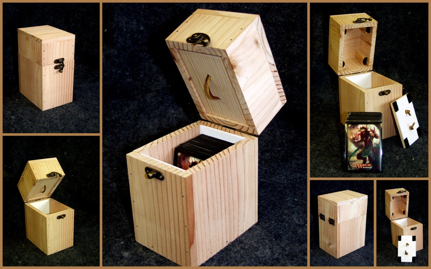 Best ideas about DIY Deck Boxes . Save or Pin Magic The Gathering DIY deck box Now.