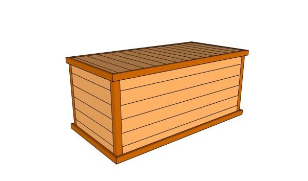 Best ideas about DIY Deck Boxes . Save or Pin Deck Box Plans MyOutdoorPlans Now.