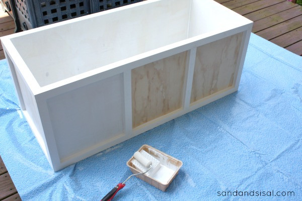 Best ideas about DIY Deck Boxes . Save or Pin Wood Work How To Build A Deck Storage Box PDF Plans Now.