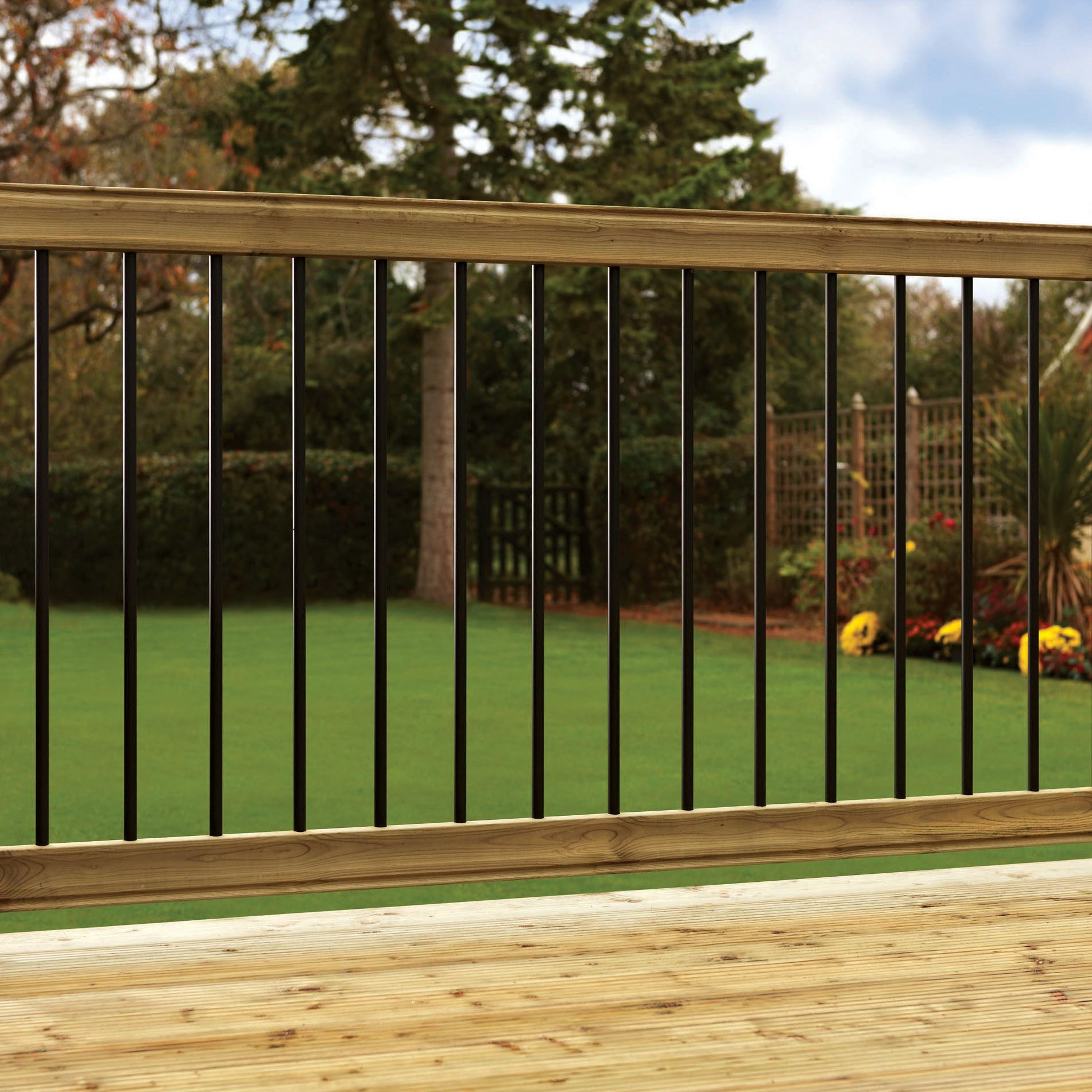 Best ideas about DIY Deck Kits . Save or Pin Deck Kits Softwood Balustrade Kit L 1820mm W 175mm Now.