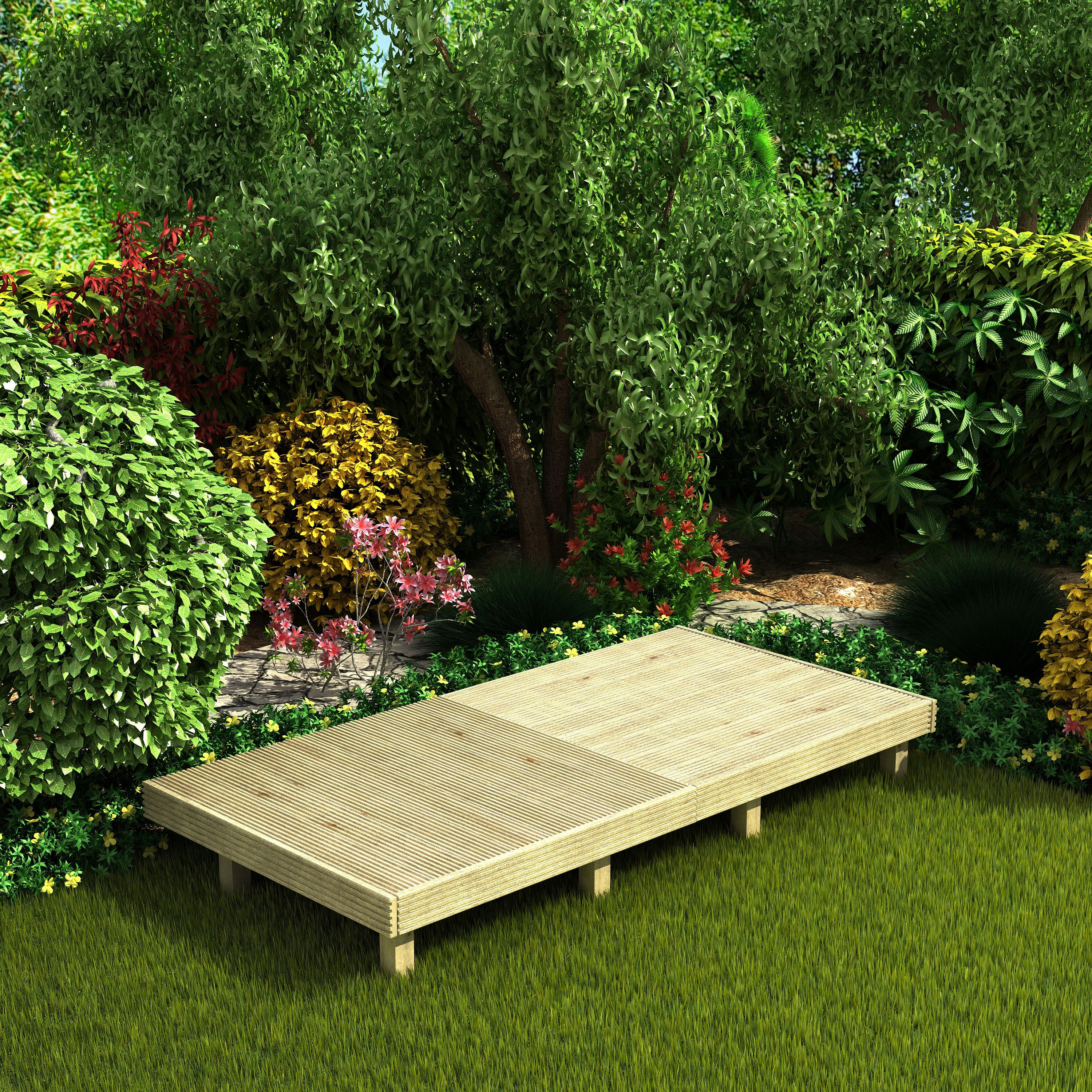 Best ideas about DIY Deck Kits . Save or Pin Deck² Easy Build Softwood Modular Deck System Now.