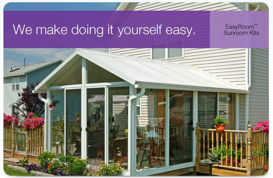 Best ideas about DIY Deck Kits . Save or Pin Sunroom kits Sunrooms and Patio enclosures on Pinterest Now.