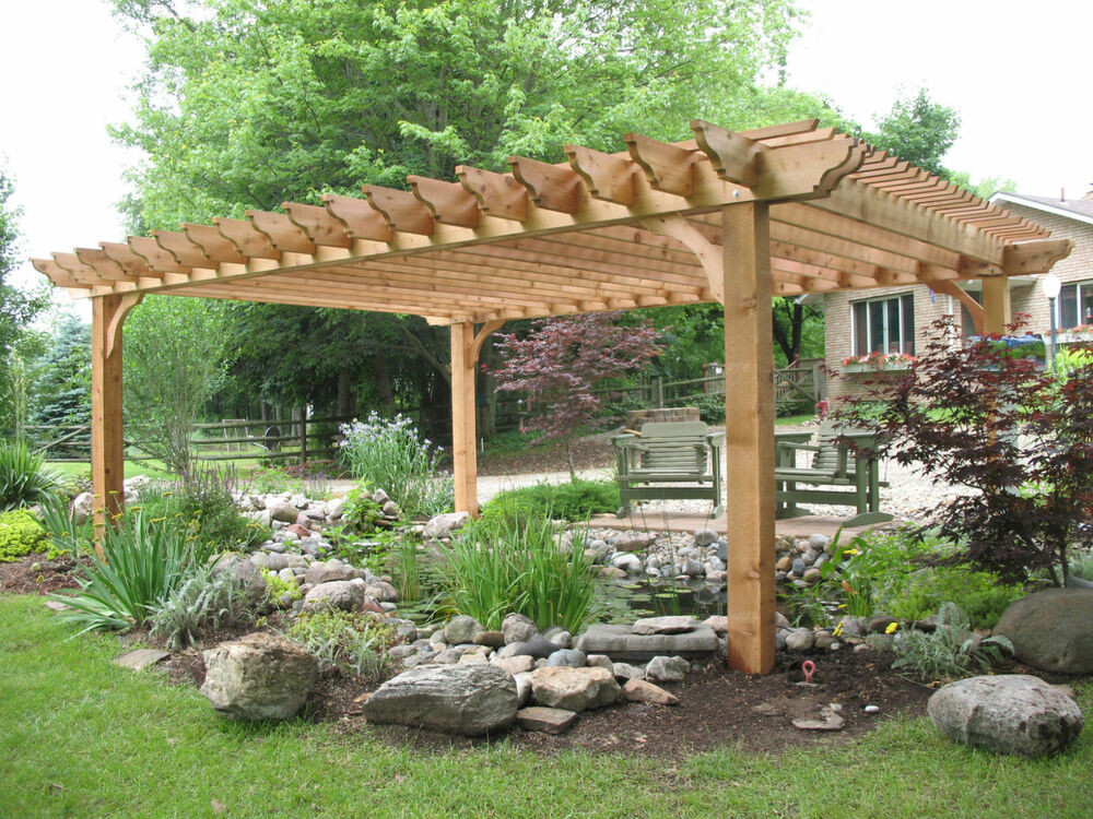 """Best ideas about DIY Deck Kits . Save or Pin Big Kahuna Pergola Kit As seen on """"Indoors Out"""" on DIY Now."""
