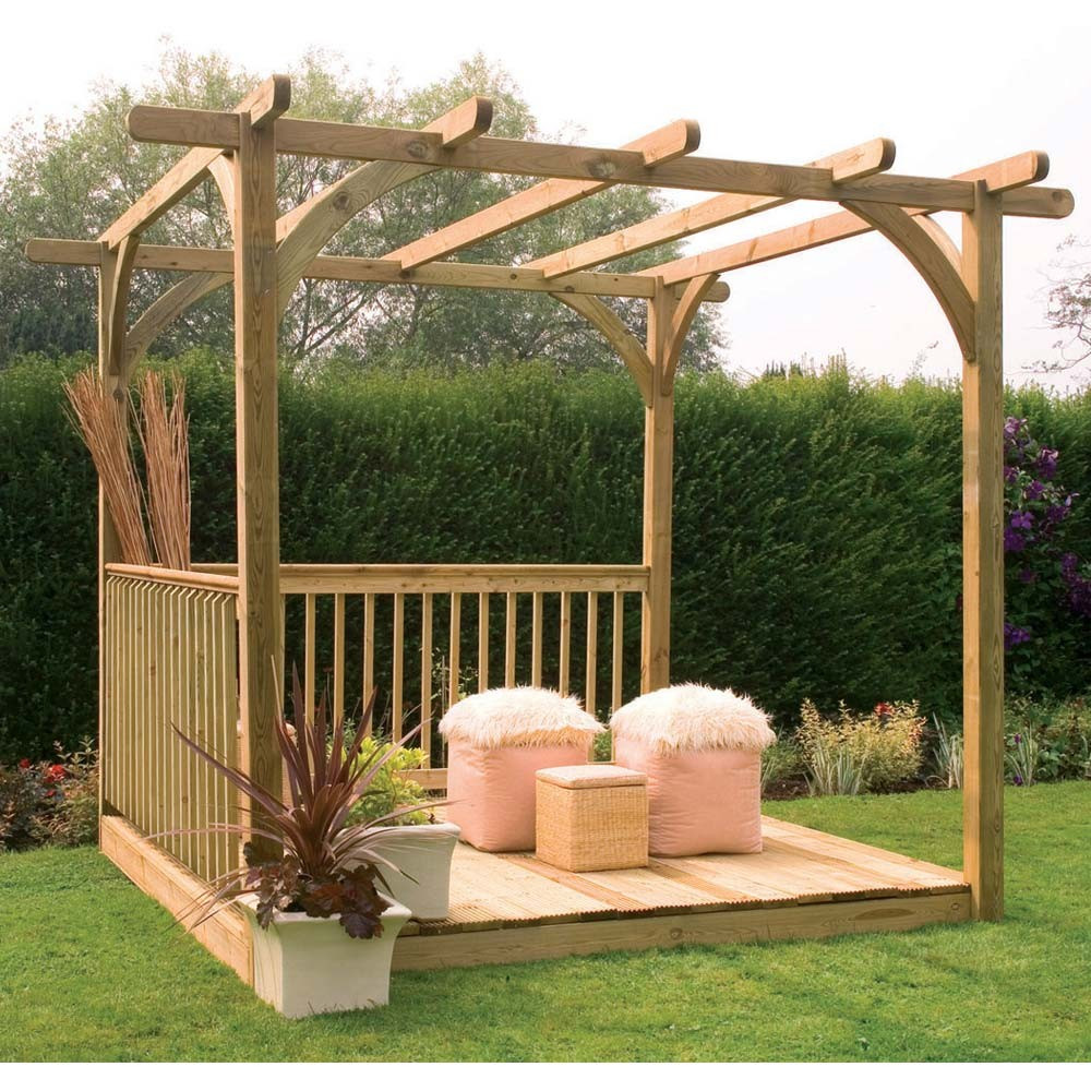 Best ideas about DIY Deck Kits . Save or Pin wood specialist Guide Diy pergola kit uk Now.