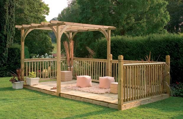 Best ideas about DIY Deck Kits . Save or Pin Diy pergola kits uk Now.