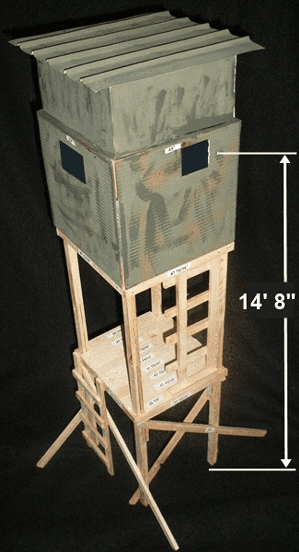 Best ideas about DIY Deer Stand Plans . Save or Pin 10 Creative DIY Deer Stand Plans & Designs – Free Now.