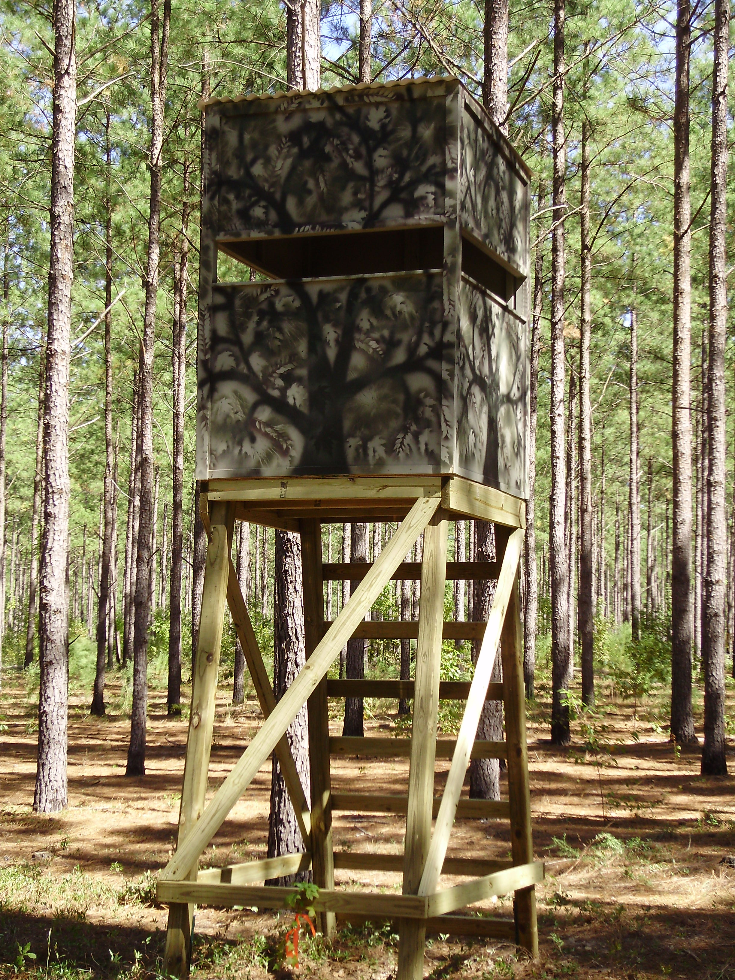 Best ideas about DIY Deer Stand Plans . Save or Pin Deer Stands Now.