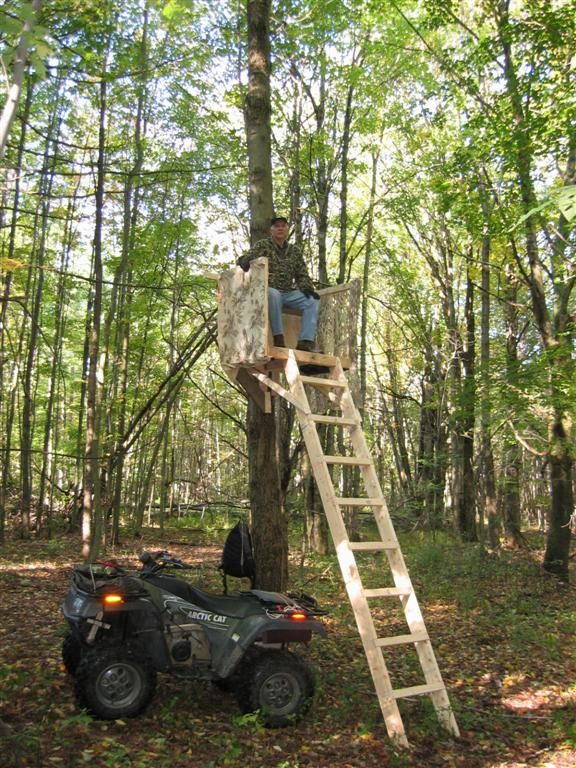 Best ideas about DIY Deer Stand Plans . Save or Pin 20 Free DIY Deer Stand Plans and Ideas Perfect for Hunting Now.