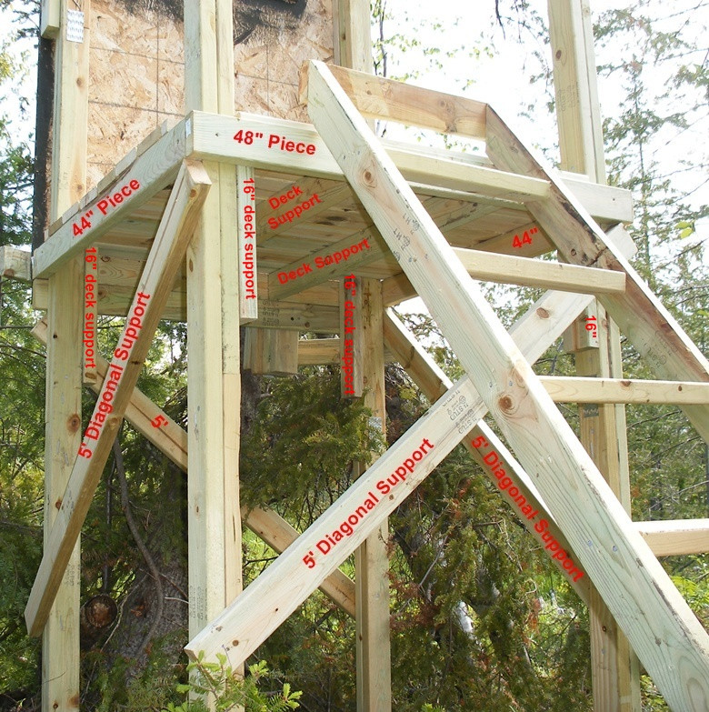 Best ideas about DIY Deer Stand Plans . Save or Pin Assembling Your Homemade Deer Hunting Box Stand Plans Now.